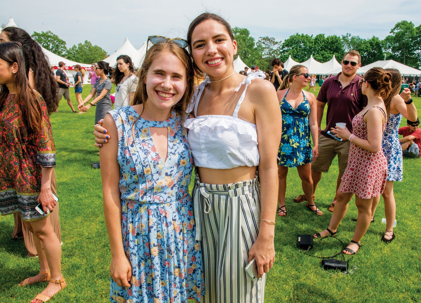 Photo of two gals at Field Day